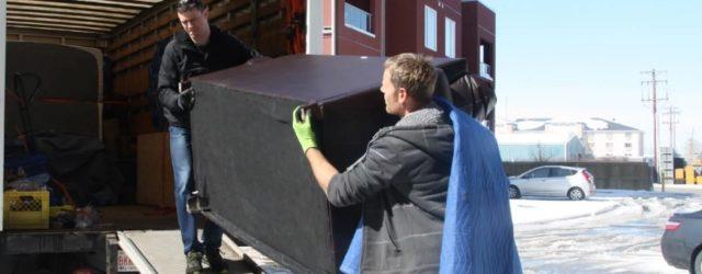 Услуги по организации квартирного переезда с помощью мувинговой компании